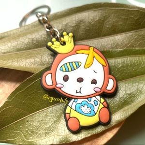 Adorable Crowned Monkey Key Chain